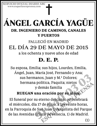 Ángel García Yagüe